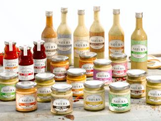 Natura breidt haar assortiment uit en positioneert zich als de Belgische referentie voor authentieke sausen.