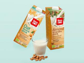 Amandeldrink van Lima: binnenkort in vier smaken