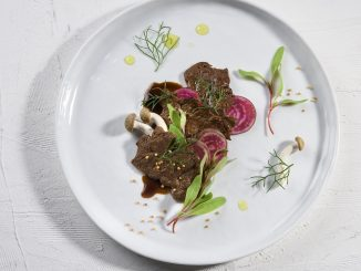 Eerste biefstuk van kweekvlees op de markt