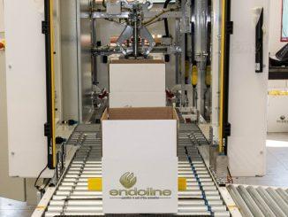 Endoline introduceert 4.0 industry in de 704 volautomatische random dozensluiters