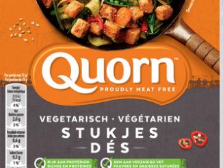 Quorn brengt CO2-label aan op verpakkingen