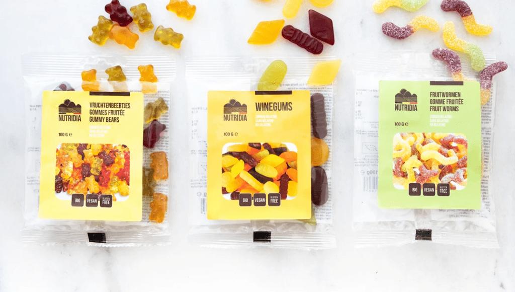 Verrukkelijk vegan: Nutridia's nieuwe snoepjes
