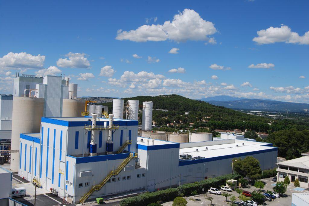 Omya voltooit uitbreiding van de Orgon-fabriek