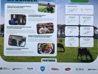 Minister Crevits en 23 partners uit Vlaamse agrovoedingsketen slaan handen in elkaar voor charter lokale voeding