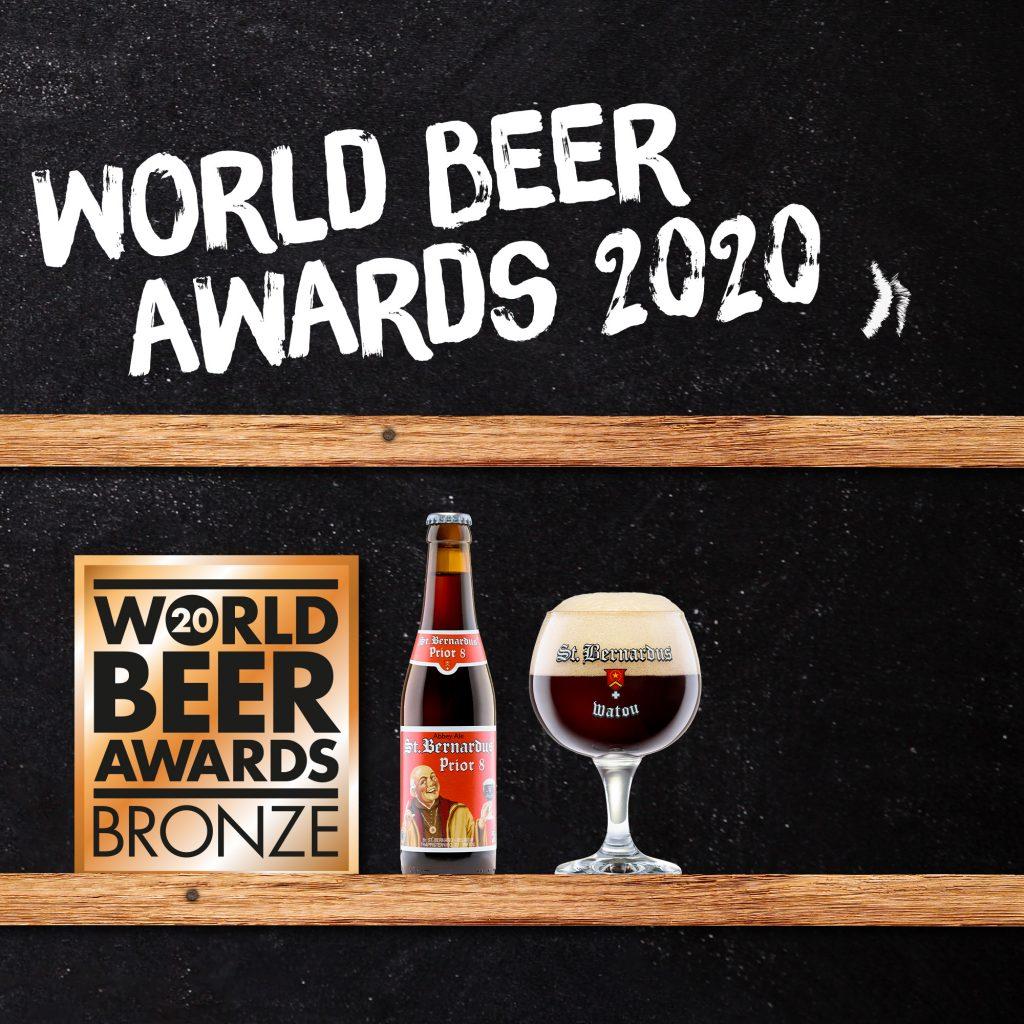 Sint-Bernardus uit Watou behaalt drie medailles op World Beer Awards