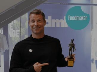 Foodmaker bekroond met Mercuriusprijs