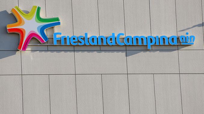 logo Friesland Campina - wikimedia sc EMG = Evolution Media Group