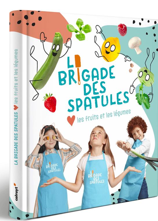 La collaboration entre Colruyt et Studio 100 franchit une nouvelle étape avec la sortie du livre de cuisine éducatif « La Brigade des Spatules »