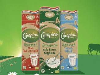 Friesland Cmapina drinkkartons onder plastic dop